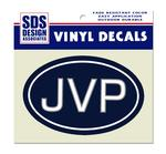 JoePa JVP Euro Navy Decal
