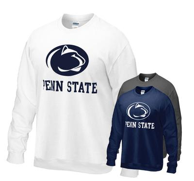 The Family Clothesline - Penn State Logo Block Crew Sweatshirt