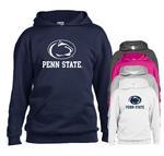 Penn State Youth Logo Block Hooded Sweatshirt