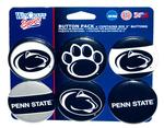 Penn State 6 Pack Buttons