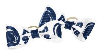 Divine Creations - Penn State Pet 2 Pack Rubber Band Bows