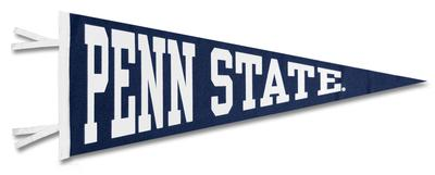 Collefiate Pacific - Penn State Block Pennant