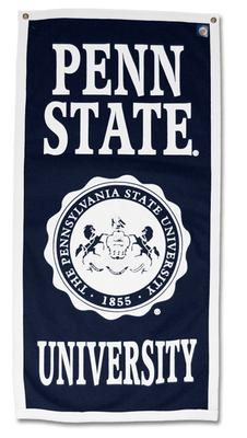 Collefiate Pacific - Penn State Seal Vertical Banner