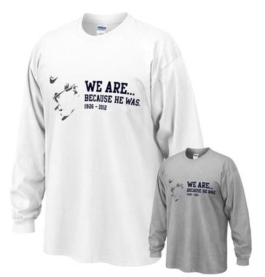 The Family Clothesline - We Are... Because He Was Joe Adult LS T-Shirt