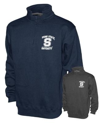 The Family Clothesline - Penn State Quarter Zip Crew Sweatshirt