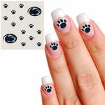 Penn State Fingernail Tattoo