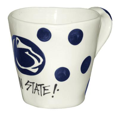 Magnolia Lane - Penn State Wobbly Edge Ceramic Mug