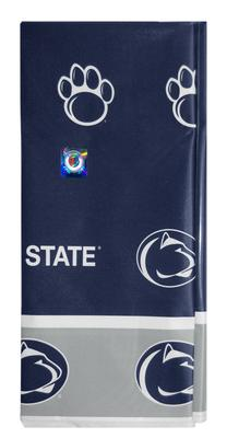 Stockdale - Penn State Grey Edged Plastic Table Cloth
