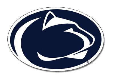 Penn State Nittany Lion Logo 6 Quot Magnet Souvenirs Gt Home