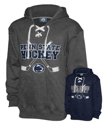 The Family Clothesline - Penn State Laced Ice Hockey Adult Hood