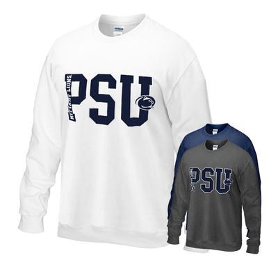 The Family Clothesline - Penn State Big PSU Crew Sweatshirt