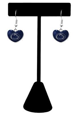 Prism Promotions - Penn State Heart Dangle Earrings