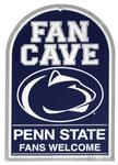 Penn State Wooden Fan Cave Sign
