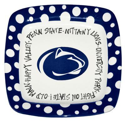 Magnolia Lane - Penn State Ceramic Square Plate