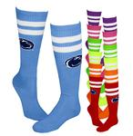 Penn State Neon Knee High Socks