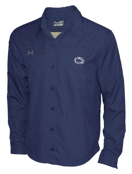 Under armour penn state under armour fishing long sleeve for Under armour long sleeve fishing shirt