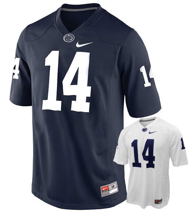 Penn State Nike Men's #14 Replica Football Jersey | Jerseys ...