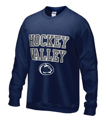 Penn State Hockey Valley Crew Sweatshirt NAVY