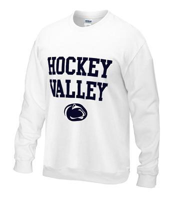 Penn State Hockey Valley Crew Sweatshirt WHITE