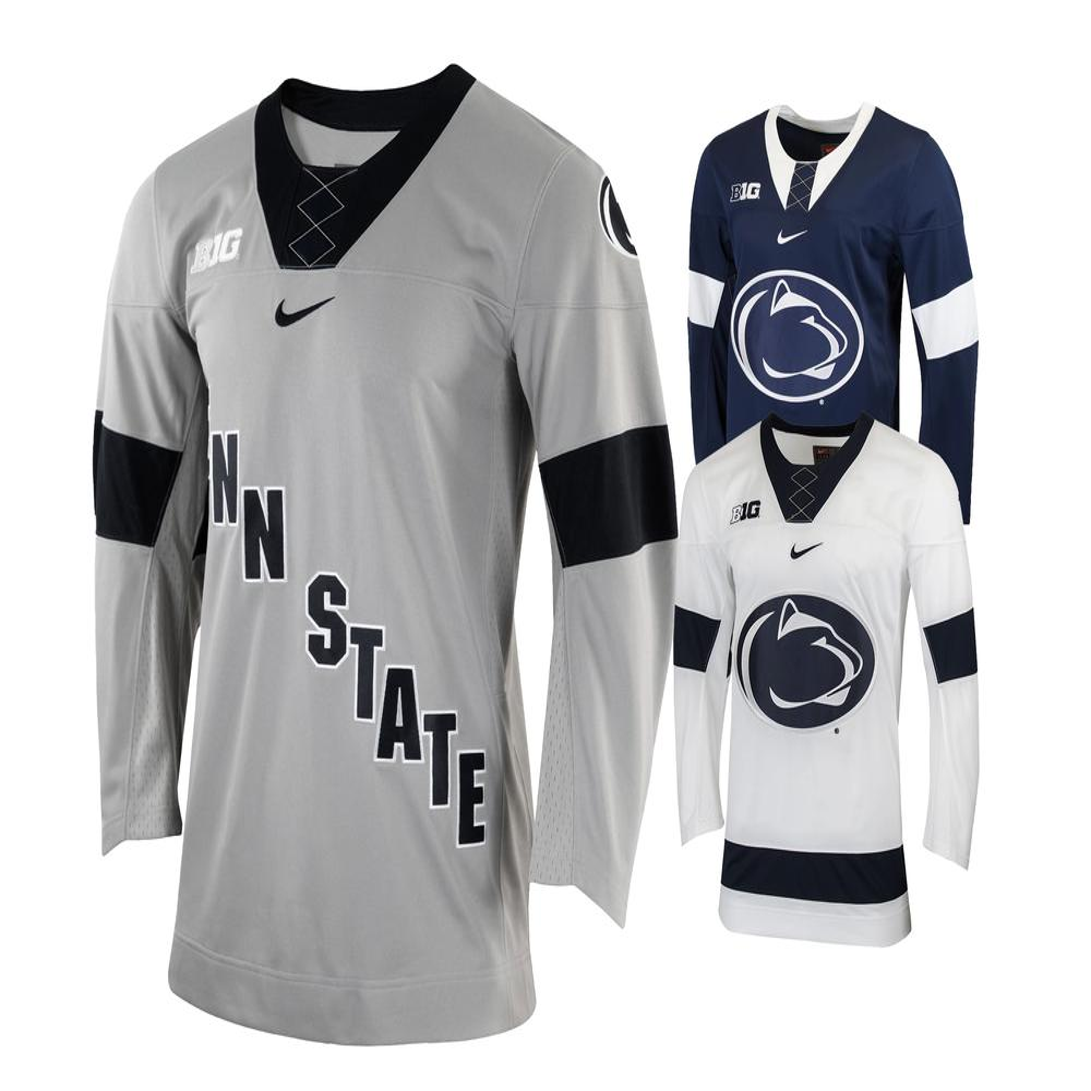 new arrivals 1b89a 257f0 Penn State Nike Men's Ice Hockey Replica Jersey | Jerseys ...