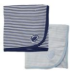 Penn State Infant Striped Blanket
