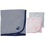 Penn State Infant Striped Blanket