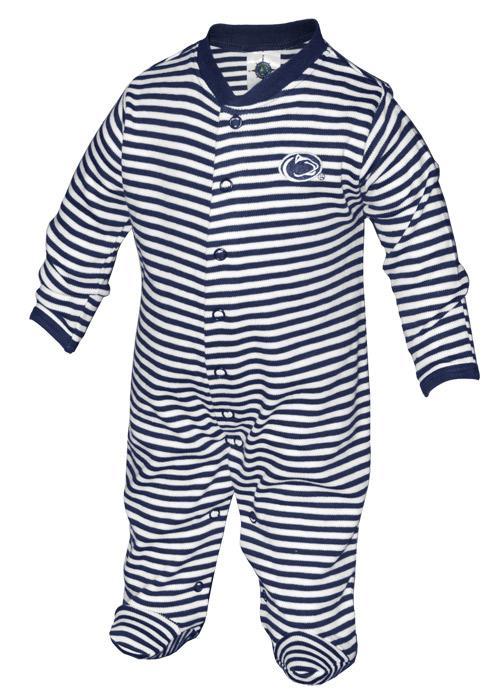Penn State Infant Striped Logo Romper