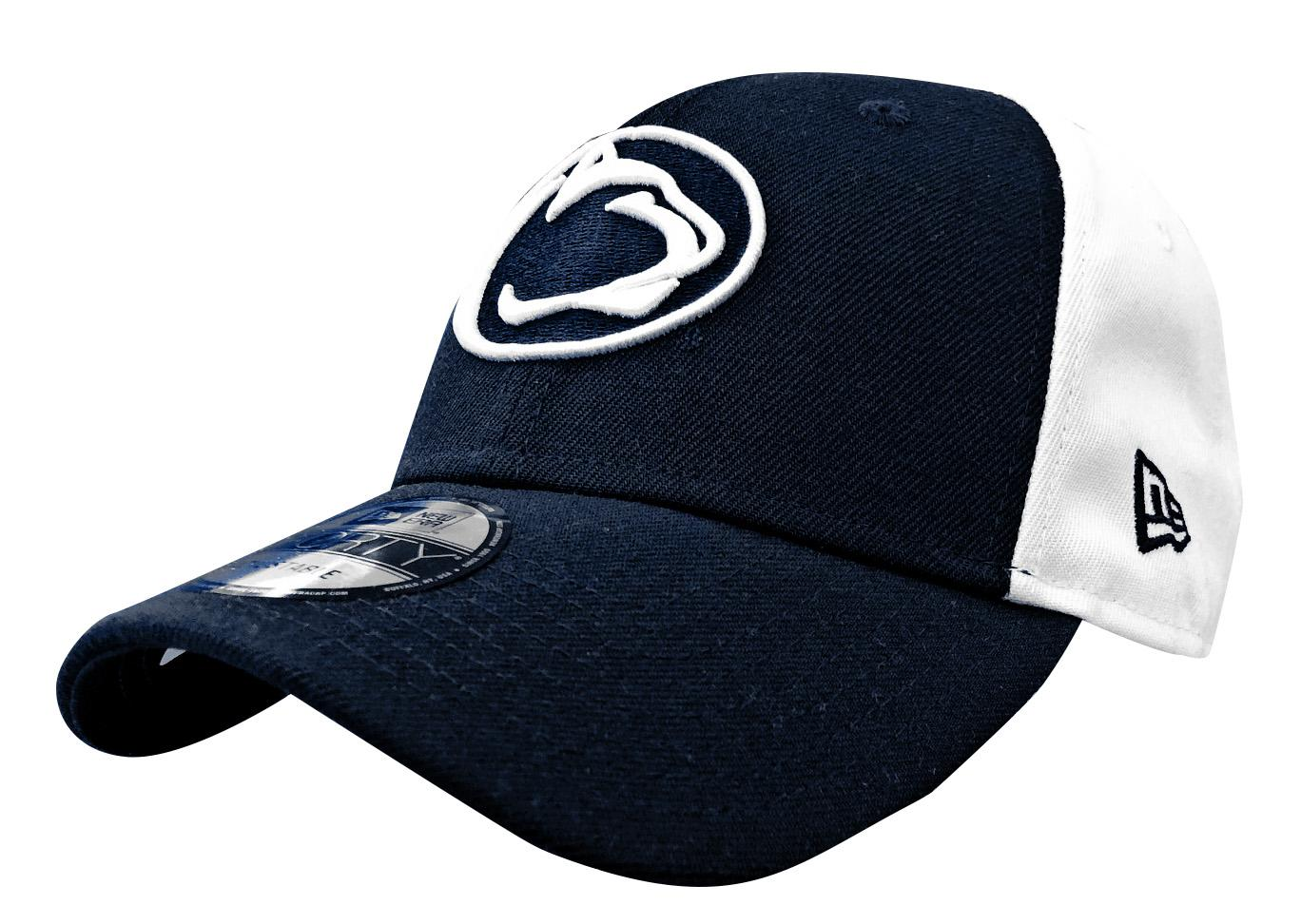 online store 40806 20caf Penn State Adult NE Blocked Team Hat   Headwear   HATS   ADJUSTABLE