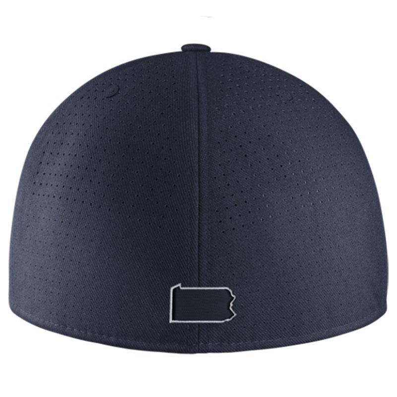 penn state baseball nike dri fit true vapor hat headwear