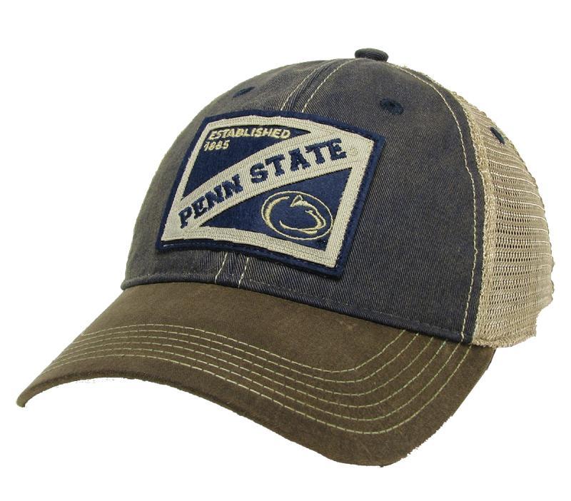 Penn State Adult Wax Cotton Hat | Headwear > HATS > ADJUSTABLE