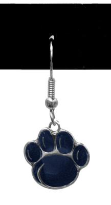 PENN STATE NEW PAW DANGLE EARRING